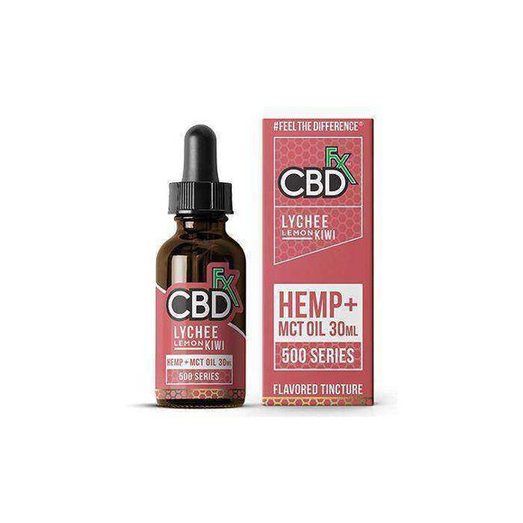 CBDfx Lychee Lemon Kiwi 30ml CBD Tincture Oil - 500/1000/1500 MGs - [cannabidiol_online]