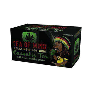 Cannabis Tea Of Mind (20 Sachets) - [cannabidiol_online]