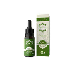 Loveburgh 400mg Olive & Hemp CBD Oil 10ml - [cannabidiol_online]