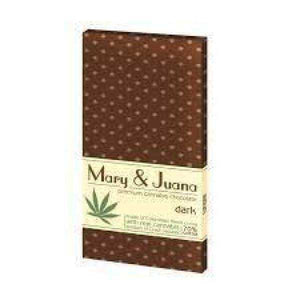 Euphoria Mary & Juana Dark Chocolate - [cannabidiol_online]