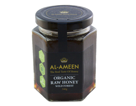 Organic Wild Forest Honey 340g