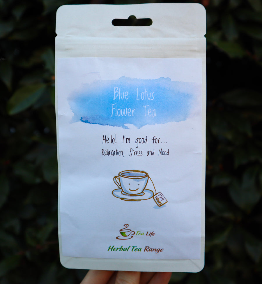 Blue Lotus Flower Tea + 5 Organic Tea Bags