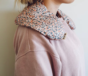 Heat Neck Wrap - Leopard