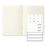 MD Notebook Light (Grid) - Set of 3