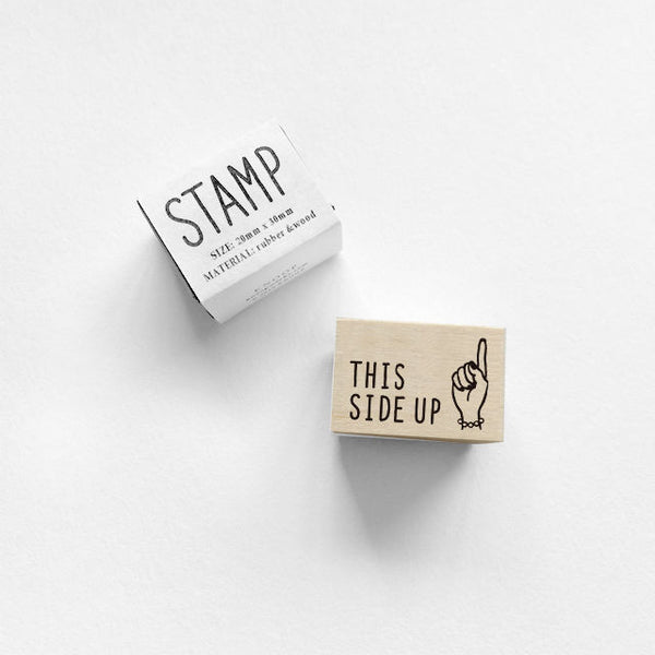 "KNOOP: Stamp - ""This Side Up"""