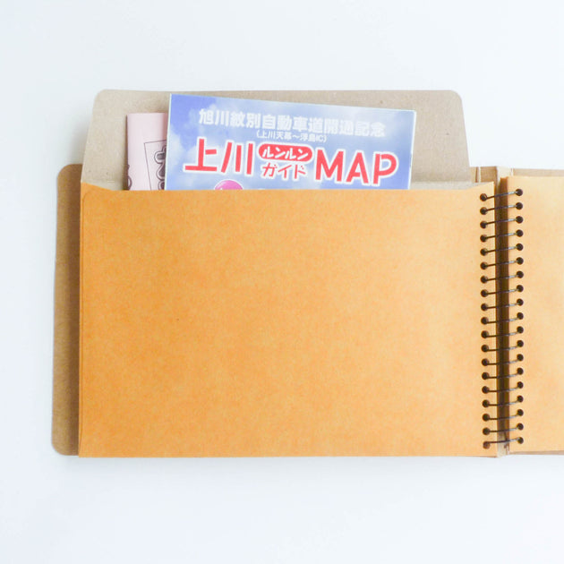 Spiral Ring Notebook: Window Envelope