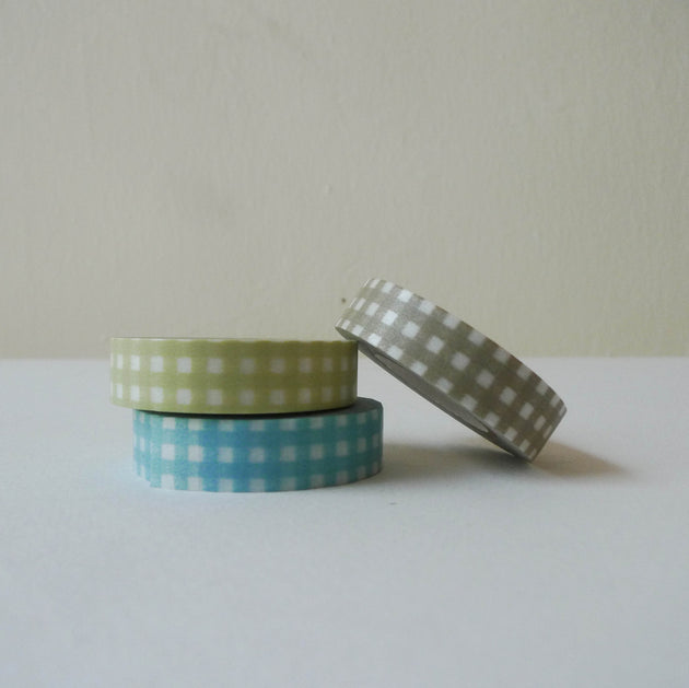 Classiky Washi Tape: Gingham B