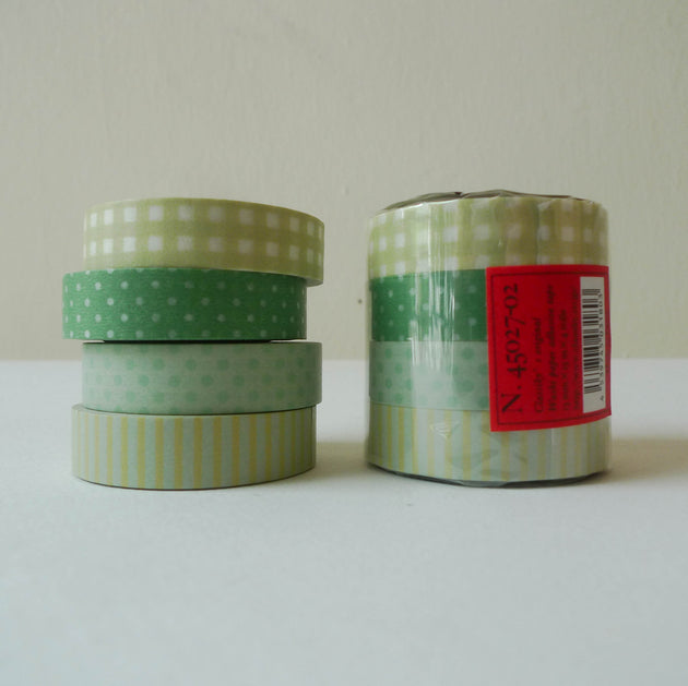 Classiky Washi Tape: 13mm Set of 4