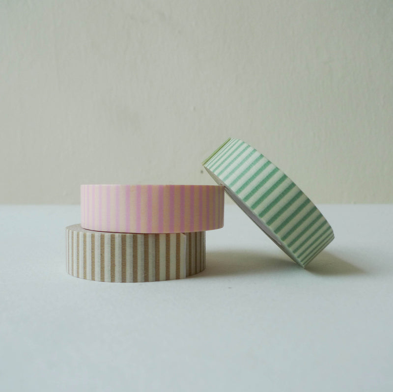 Classiky Washi Tape: Stripe A