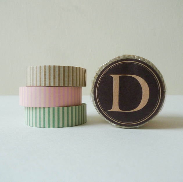 Classiky Washi Tape: 15mm Set of 3