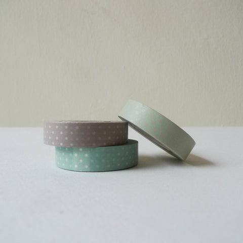 Classiky Washi Tape: Dots C