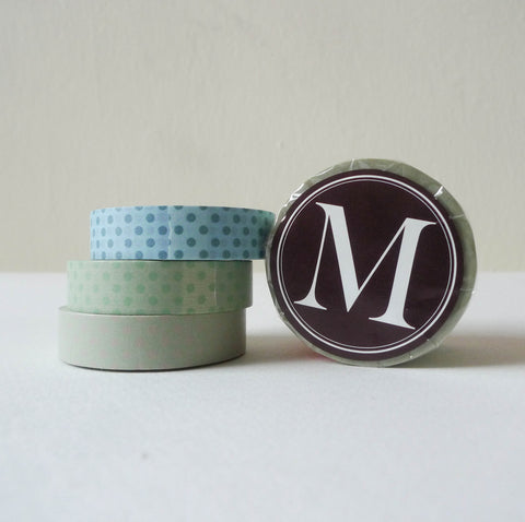 Classiky Washi Tape: 13mm Set of 3