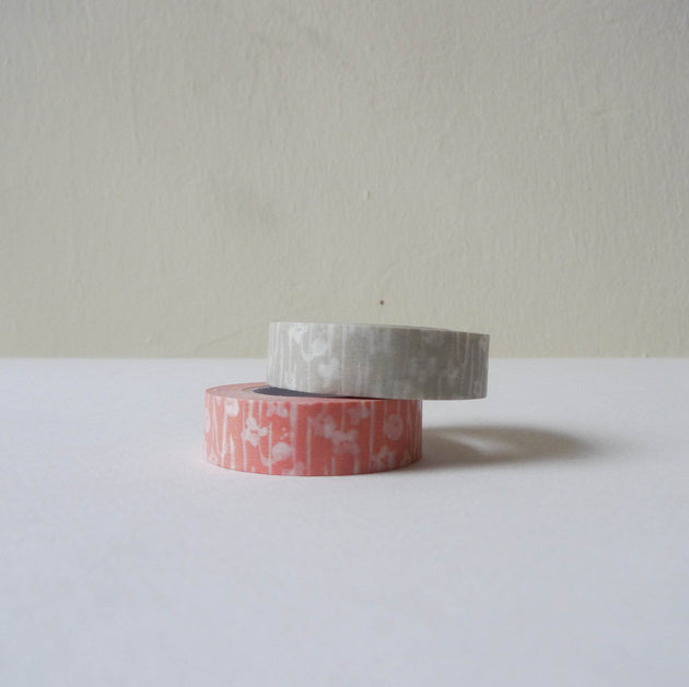 Tentosen x Classiky Washi Tape: Small Flower