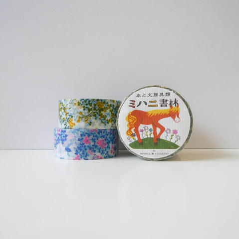 Mihani x Classiky Washi Tape: Wood Sorrel Set of 2