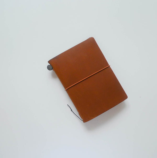 TRAVELER'S Notebook (Passport Size) Starter Kit in CAMEL