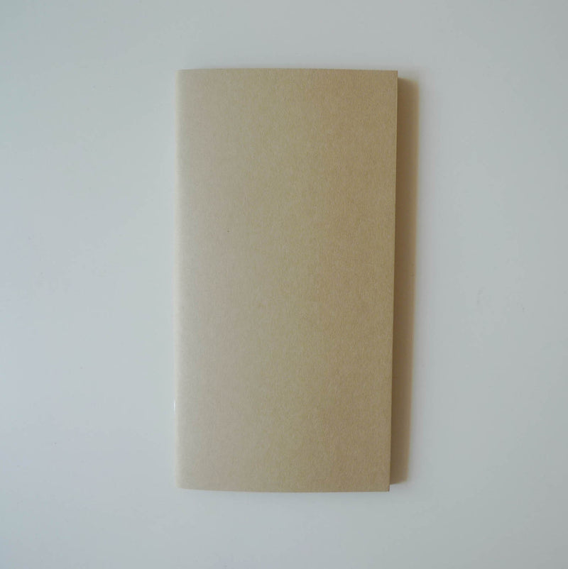 014 Refill Kraft Paper Notebook (Regular Size)