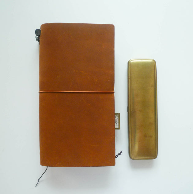 Brass Pen Case