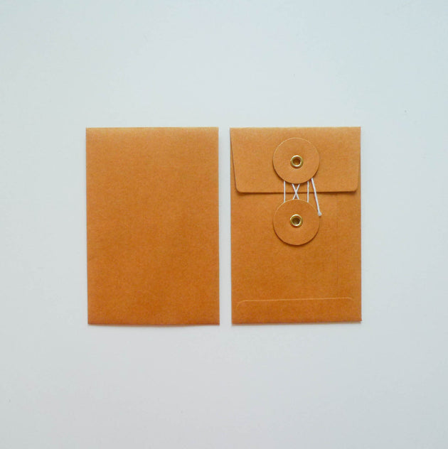 Kraft Envelope with Eyelet