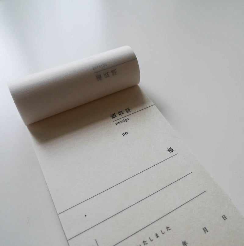 Tosawashi: Vertical Washi Receipt Book