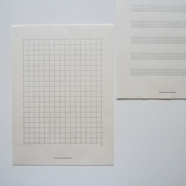 Tosawashi: Letterpress Washi Letter & Envelope Set