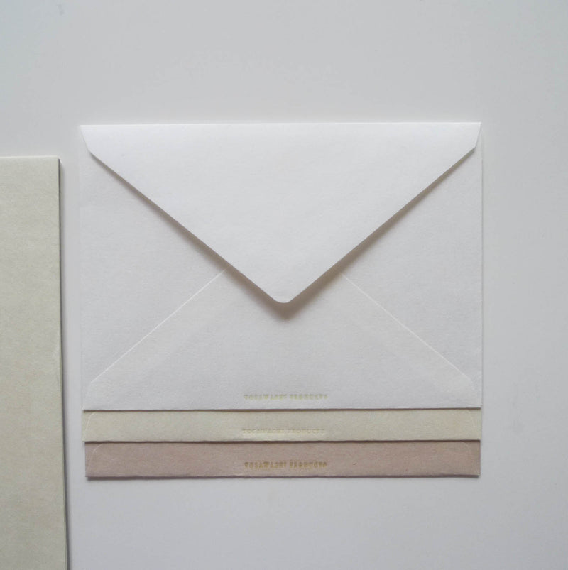 Tosawashi: Tricolor Washi Letter & Envelope Set