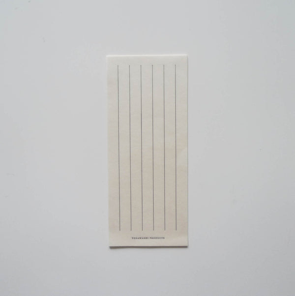Tosawashi: Washi Vertical Notepad