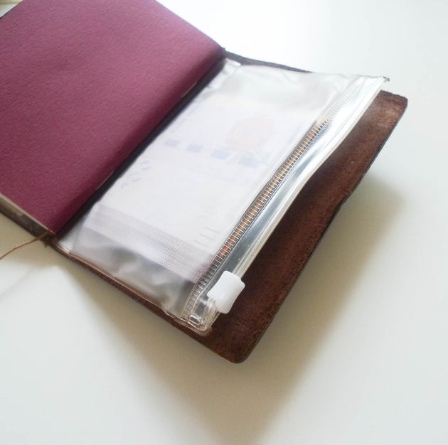 004 Zipper Pocket (Passport Size)
