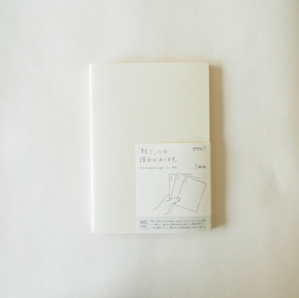 MD Notebook Light (Blank) - Set of 3