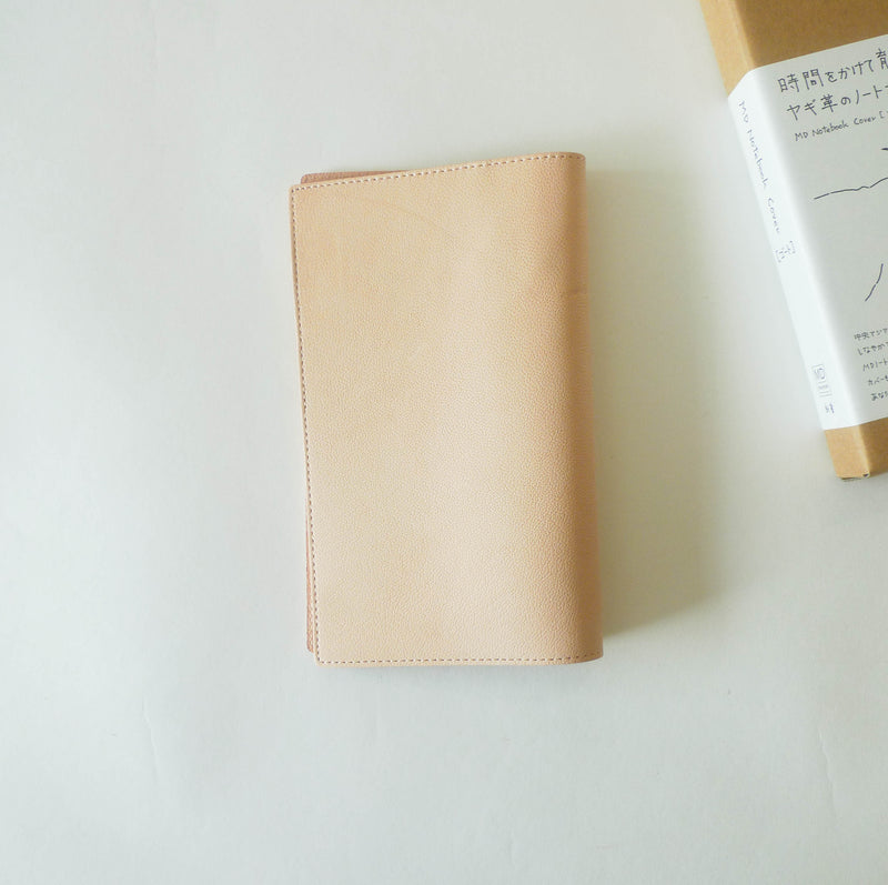[PRE-ORDER] Goat Leather Cover for MD Notebook