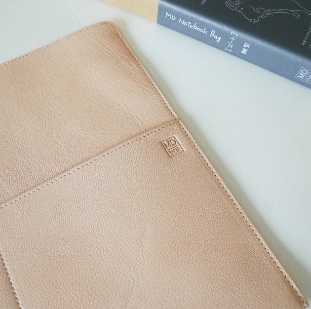 Goat Leather Bag for MD Notebook