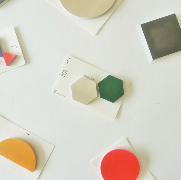 Drop Around x Classiky: Geometric Sticky Notes