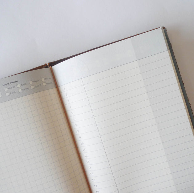 005 Refill Free Diary - Daily (Regular Size)