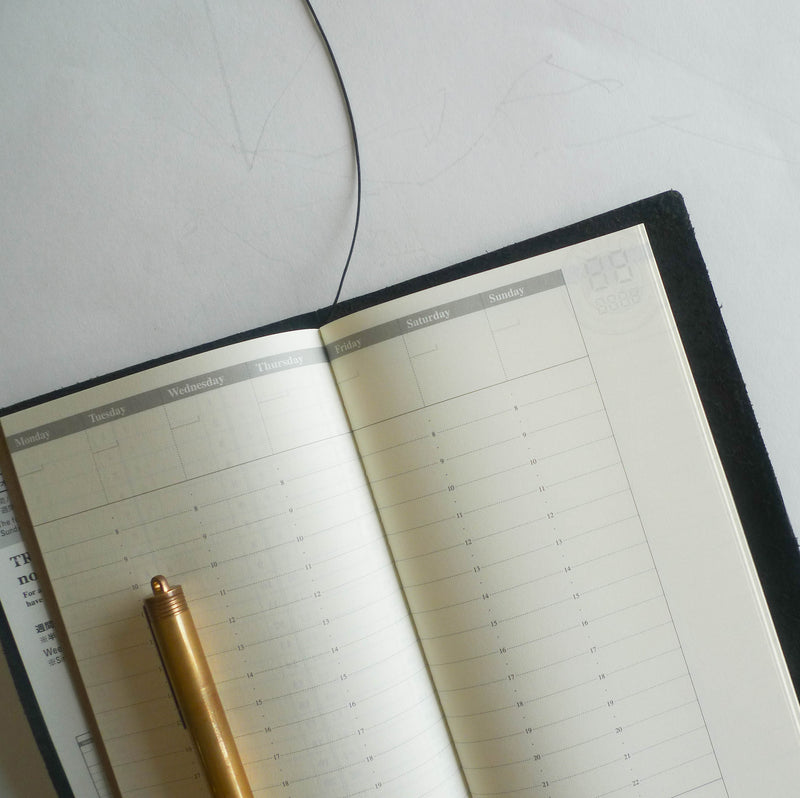 018 Refill Free Diary - Weekly Vertical (Regular Size)