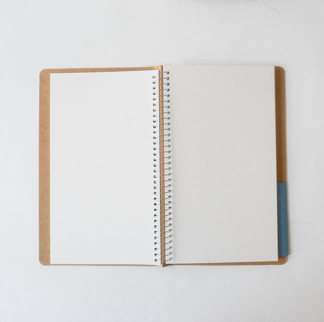 Spiral Ring Notebook: Watercolour Paper