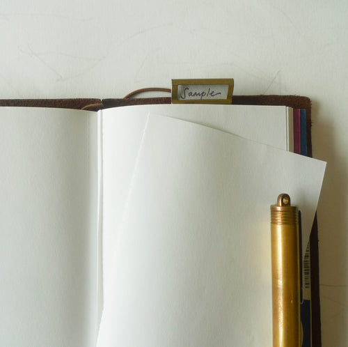 005 Refill Lightweight Paper Notebook (Passport Size)