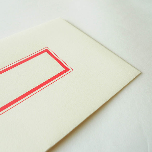 Yuruliku: Letterpress Envelopes