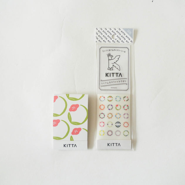 KITTA Seal: KITD008 Circle [Flower]