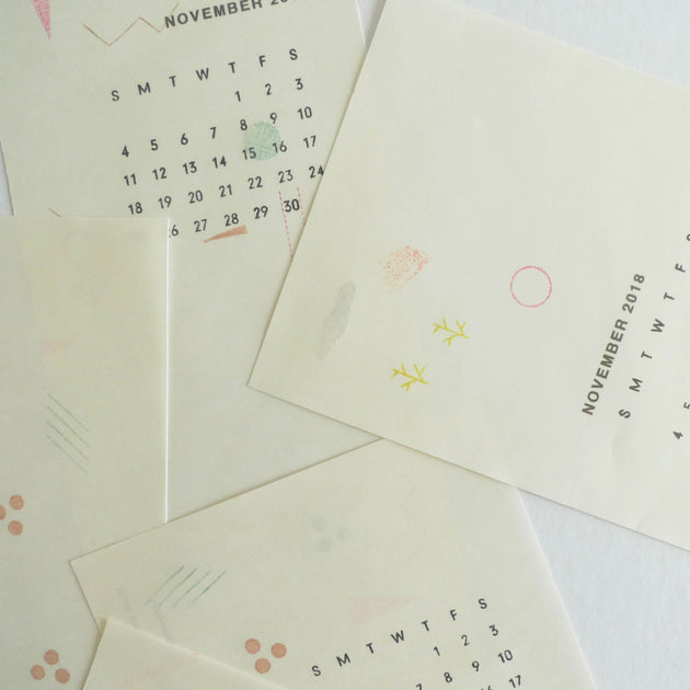 Mizushima: JIZAI Clear Stamp - Shapes Set