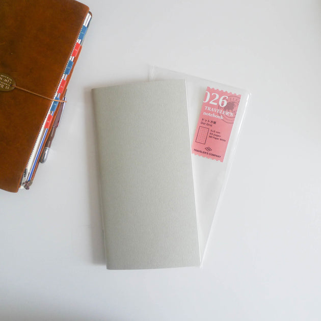 026 Refill Dot Grid Notebook (Regular Size)