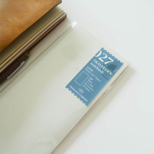 027 Refill Watercolour Paper (Regular Size)