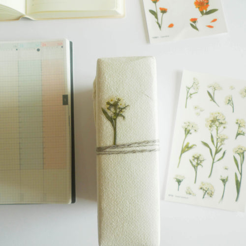 APPREE: Pressed Flower Sticker (Sweet Alyssum)