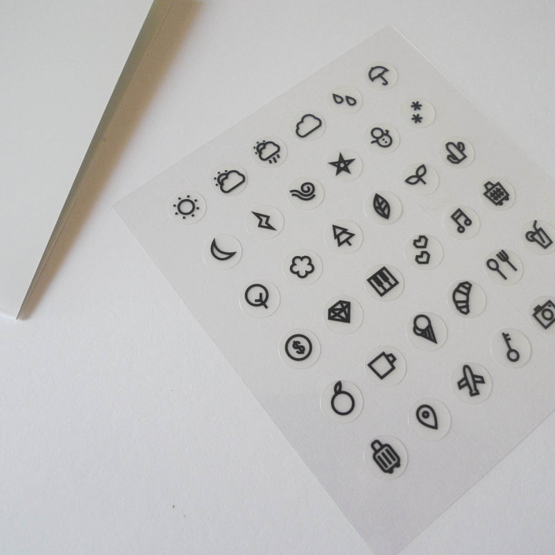 Suatelier: Icon Stickers