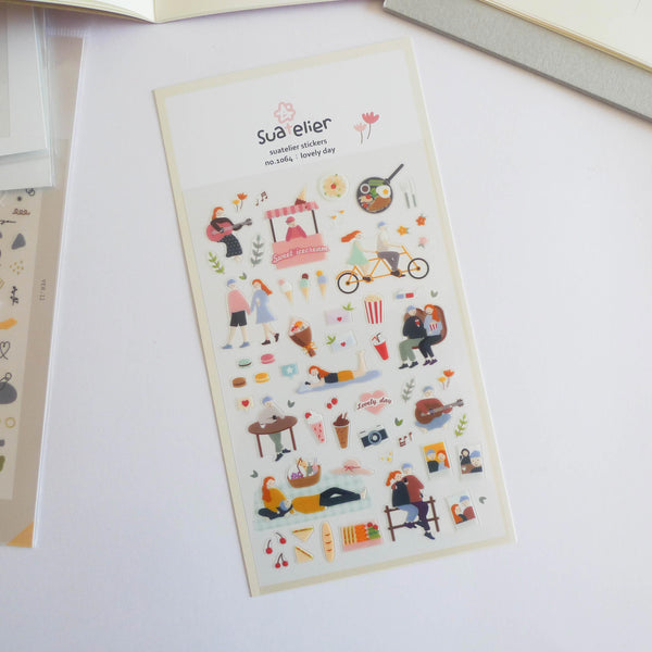 Suatelier Stickers: Lovely Day