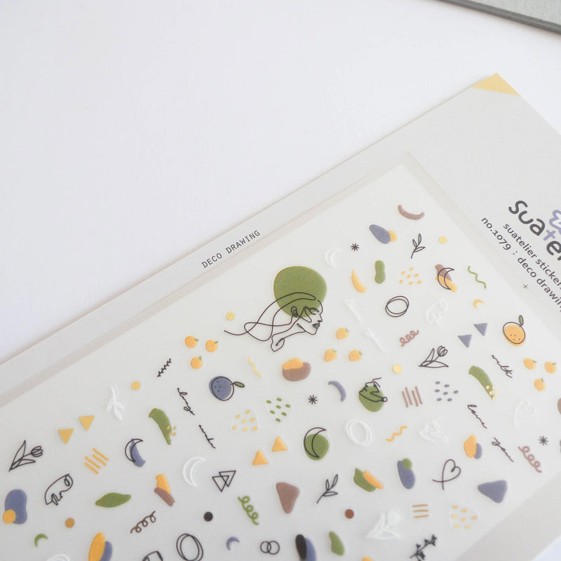 Suatelier Stickers: Deco Drawing