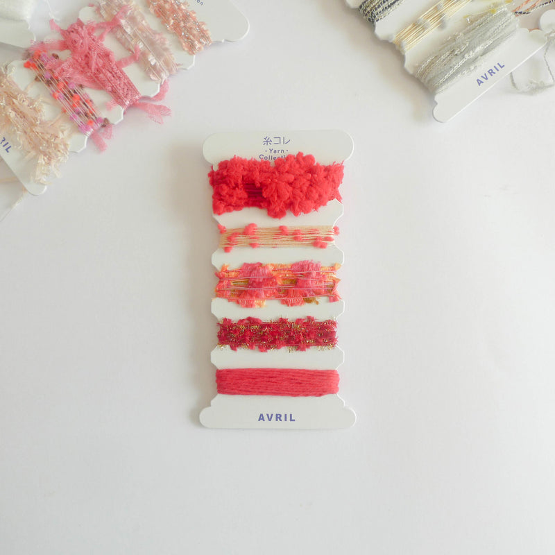 Avril: Yarn Collection (Red)