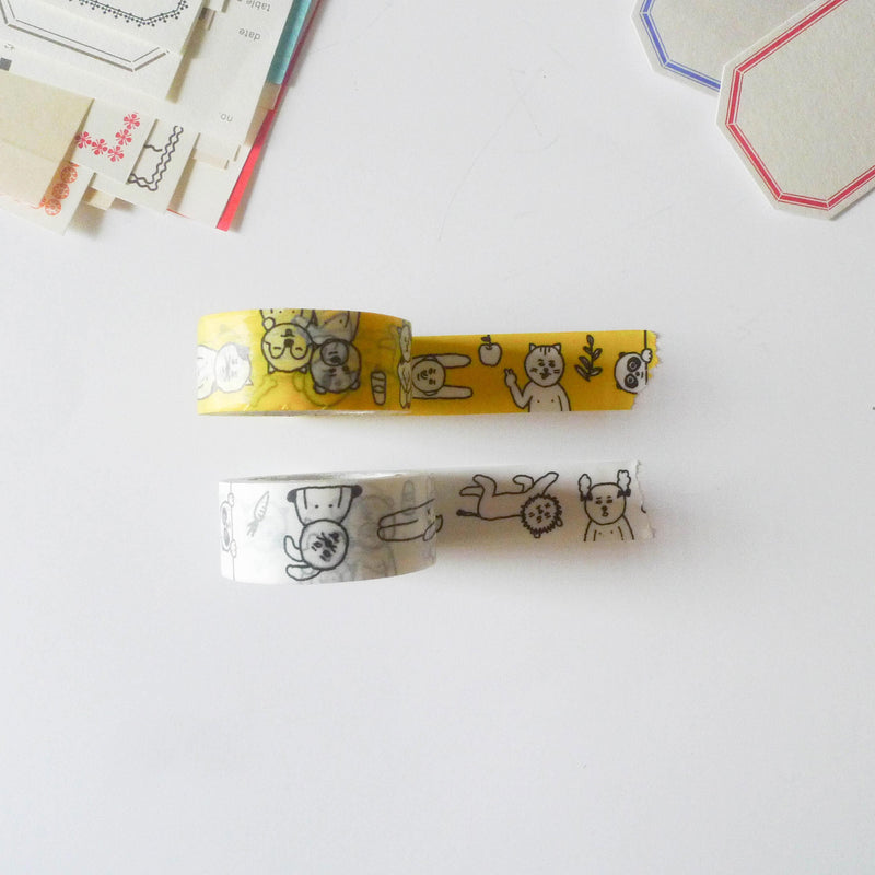 Sennokoto x Classiky Washi Tape: Random Set of 2