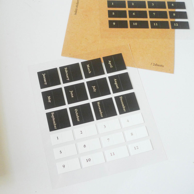 Suatelier: Index Stickers