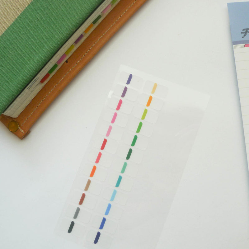 Midori: Sticker Series - Index Colour Seal