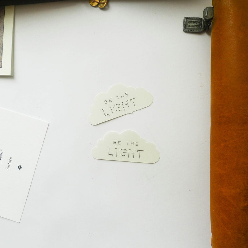 BK: Sticker - Be The Light