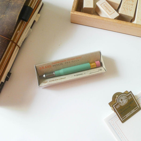 [LIMITED EDITION] Brass Pencil Factory Green